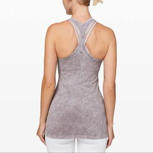 Lululemon Cool Racerback II *Dye Washed Half Moon